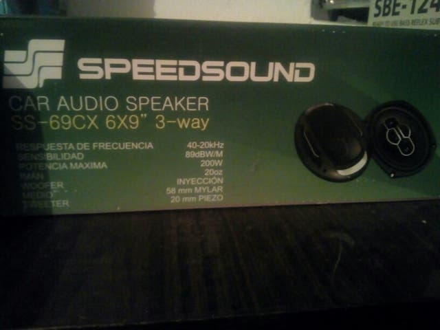 6x9 speed sound nuevos