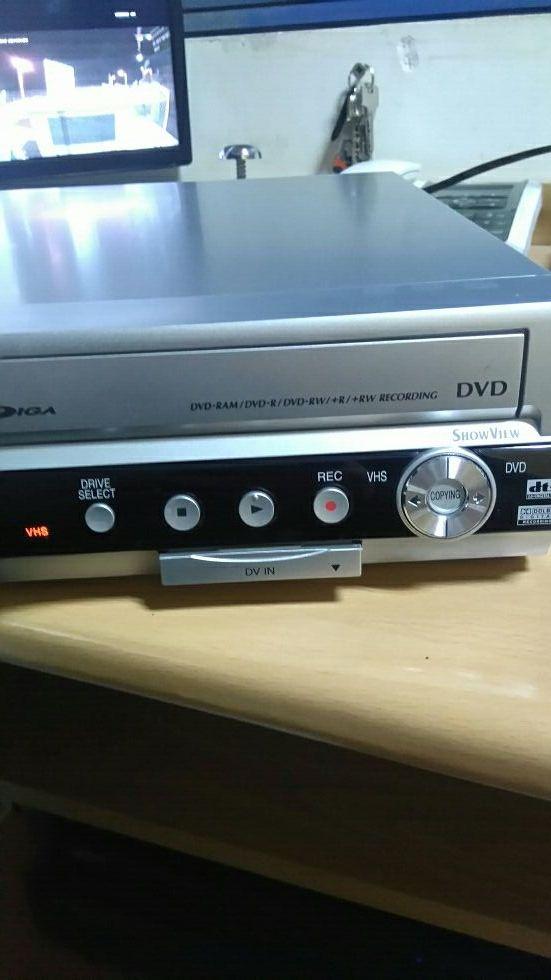 Vhs ,y Dvd Todo en 1 marca Panasonic ,funciona cor