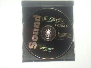 software original sound blaster pci 64