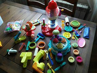 lote de productos playdoh