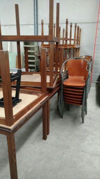 Mesas de madera de segunda mano por 40 en tomelloso for Wallapop mesas