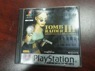 tomb raider III ps1
