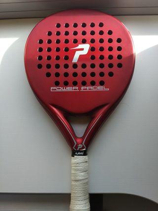 Pala padel Power Padel Red (mate)