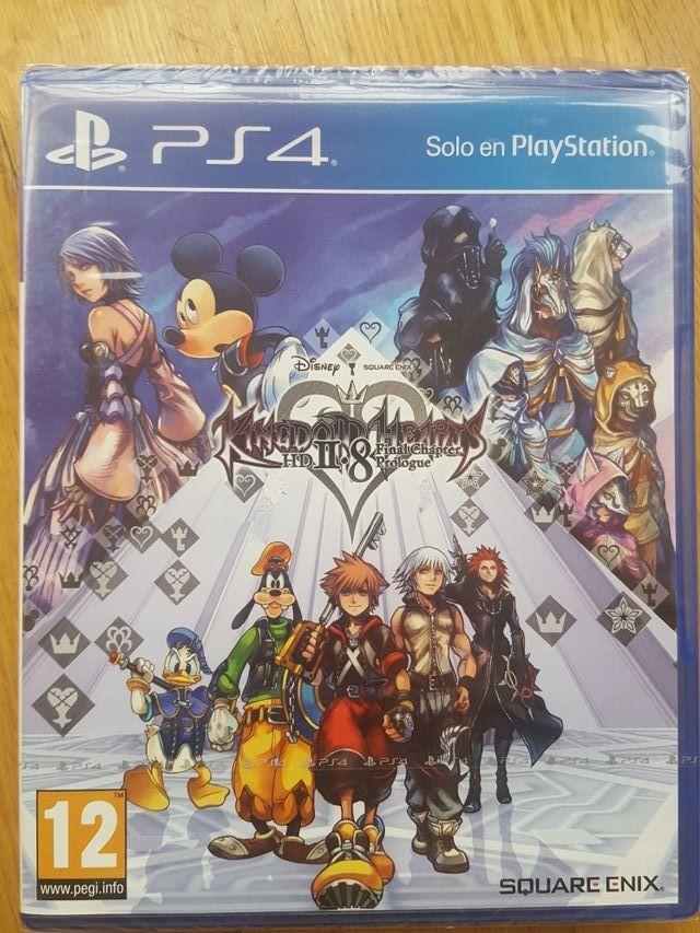 Juego Kingdom Hearts Hd 2 8 Ps4 De Segunda Mano Por 25 En Madrid