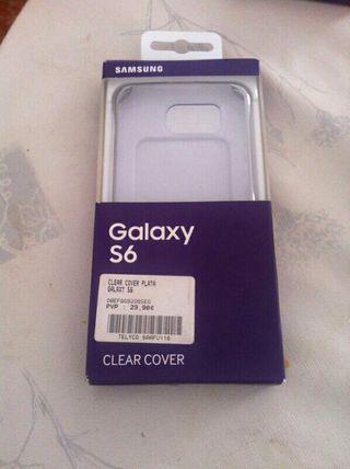 Funda Clear cover samsung galaxy S6