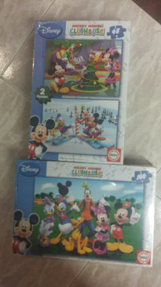 puzzles Disney Mickey Mouse