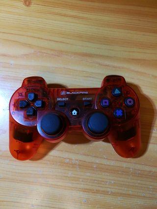 Mando Bluetooth PS2 BLACKFIRE Rojo