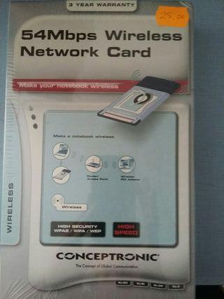 Tarjeta internet sin cable
