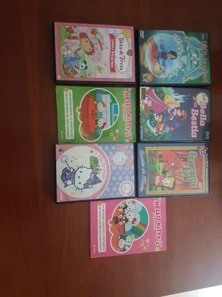 Películas Hello Kitty y mas.