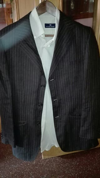 Traje chaqueta de lino talla 48