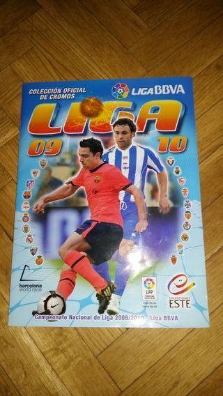 Álbum cromos Liga 2009-2010
