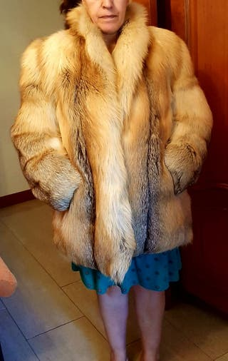 Chaqueton piel lomo de zorro