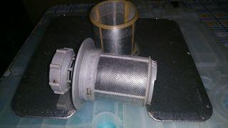 Micro filtro de malla para lavavajillas Bosch