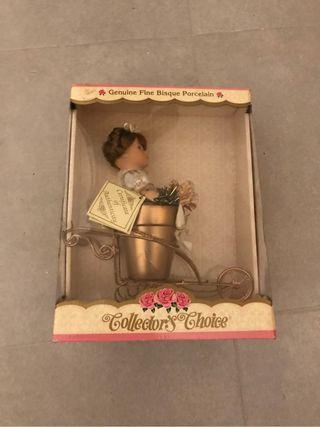 Muñeca porcelana coleccionista