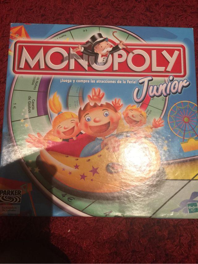 Juego De Mesa Monopoly Junior De Segunda Mano Por 10 En Eibar En