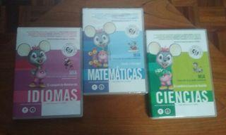 Juegos educativos en DVD-ROM