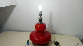 Lámpara vintage dos luces diferentes