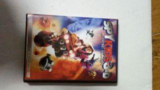DVD coleccionista Spy Kids con gafas 3D