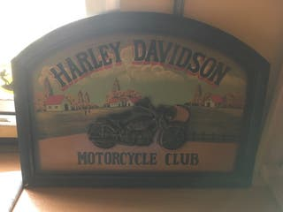Cuadro Harley Davison