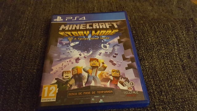 juego ps4 Minecraft story mode