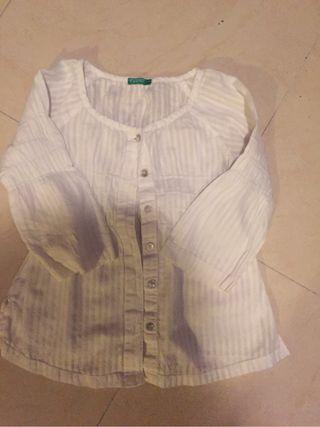 Camisa niña benetton
