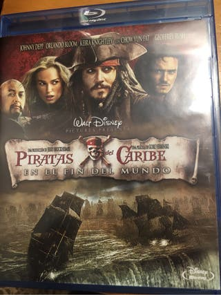 Pelicula piratas del caribe bluray