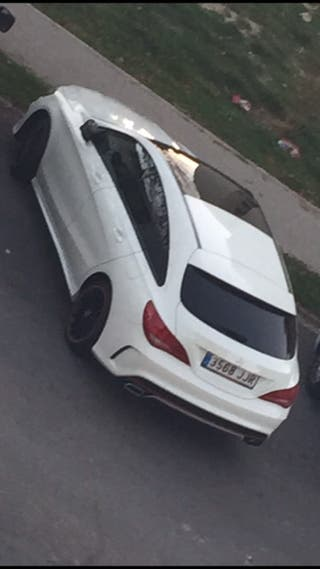 Mercedes-Benz Clase CLA OCT 2015 SOOTING BRAKE ORANGE