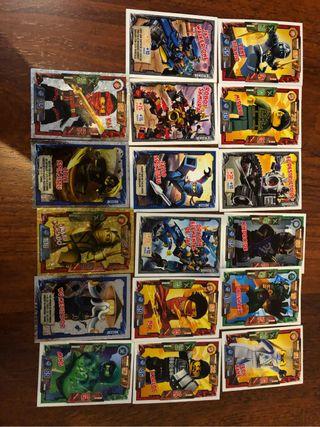 Cartas Ninjago Lego