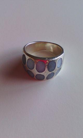 anillo de plata 925