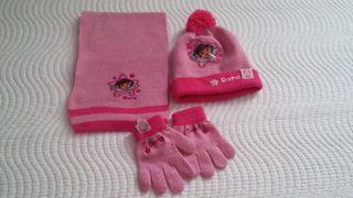 Gorro bufanda guantes