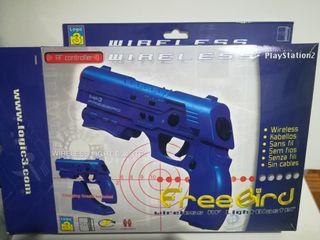 Pistola PS2 FREEBIRD sin cable para juegos