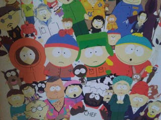 Vendo cuadro de SOUTH PARK