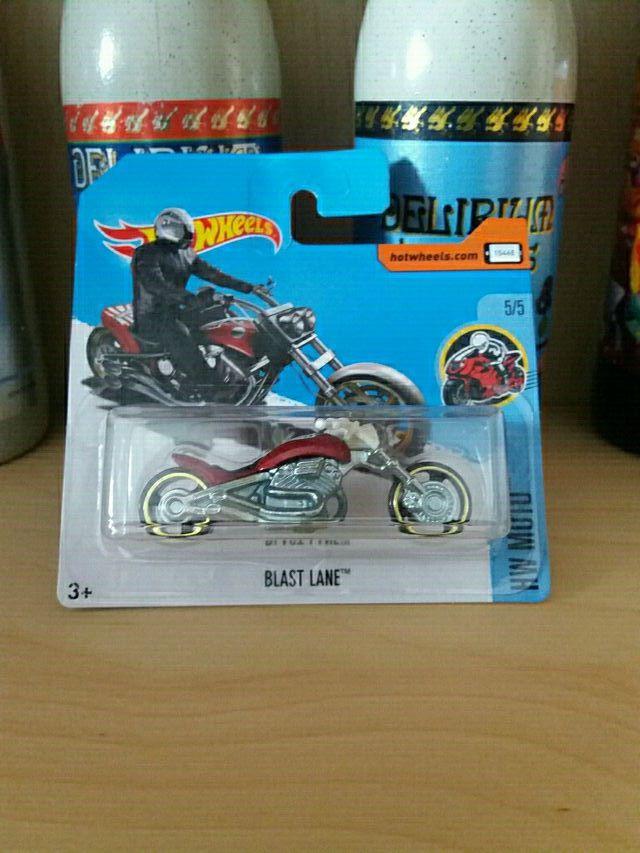 Blast Lane Hot Wheels Treasure Hunt