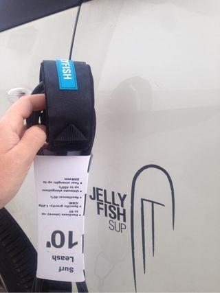 Leash paddle surf/ surf Jellyfish
