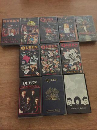 Queen vhs