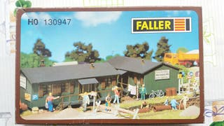 Maqueta Faller HO 130947. Barraca obras