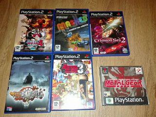 juegos playstation 2 y 1