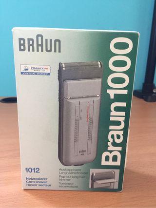 Afeitadora Braun 1000