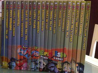 REGALO 21 libros /21 DVD LUNNI
