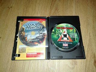 juegos originales con sus manuales para Windows XP