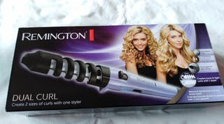 Remington dual curl moldeador