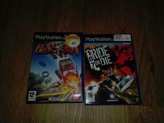juegos originales Play Station 2 de segunda mano