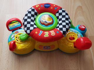 Juguete Bebé Volante Sonidos - velcros carro