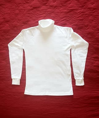 Jersey blanco nuevo a estrenar niña/o 8-10 años
