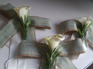 Flores Coche para boda