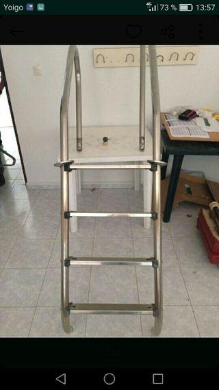 escalera de picina acero inoxidable sin estrenar