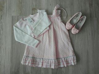 Conjunto rosa Kauli talla 5