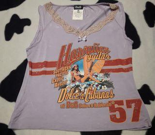 Camiseta mujer dolce & gabbana.talla s.m