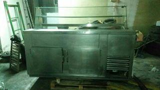 Vitrina mostrador frigorífico
