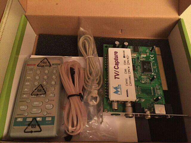 Sintonizadora capturadora de TV analógica y radio